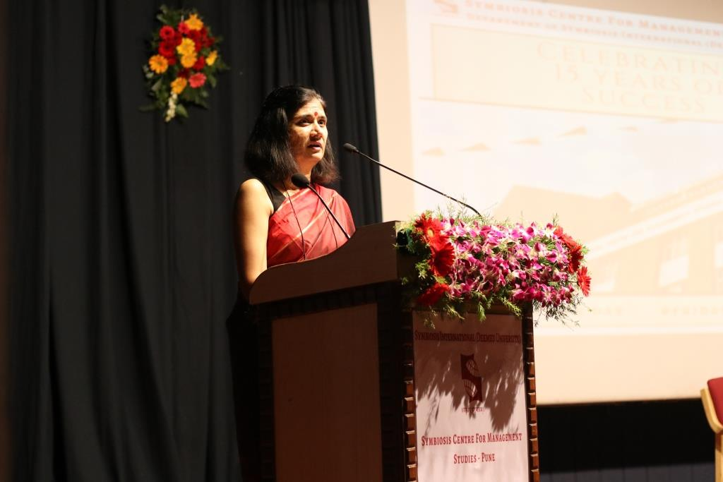 SCMS Pune foundation event